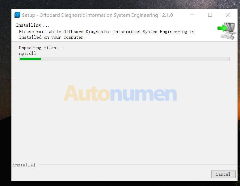 How to Install ODIS-Engineering 12.1.0 Diagnostic Software-2