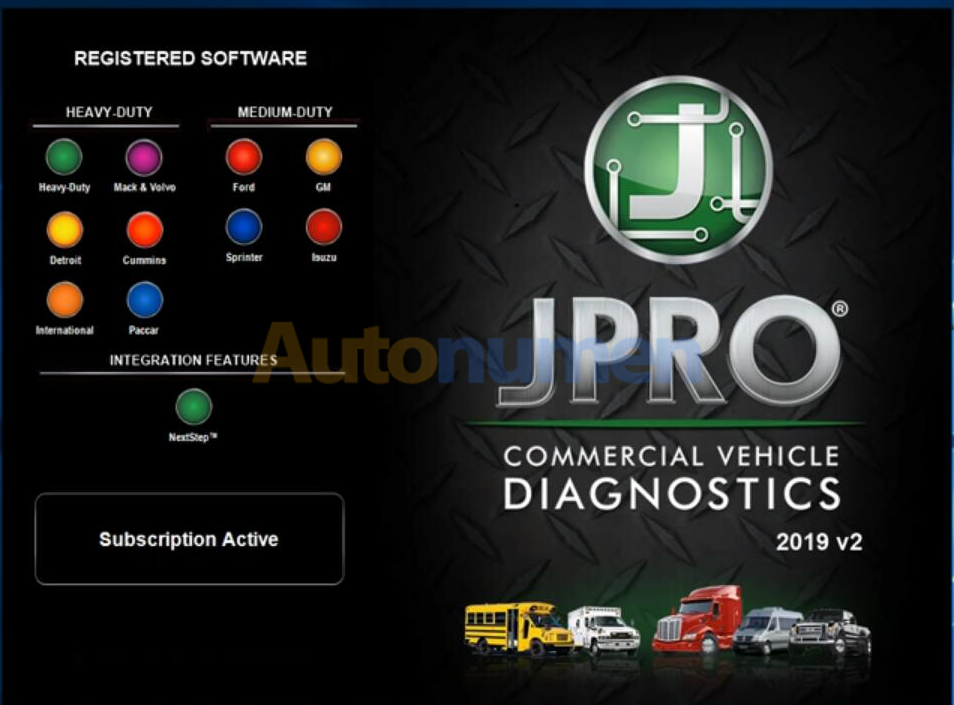 the highly effective diagnostic tool JPRO Professional heavy-duty truck scan toolJPRO -1